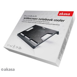 """Akasa 17"""" QUASAR chladící podložka pod notebook"""