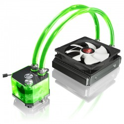 RAIJINTEK Triton - 140mm vodní chlazení - zelené