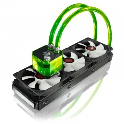 RAIJINTEK Triton - 360mm vodní chlazení - zelené