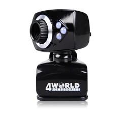 Webkamera 4World 2Mpx, černo-stříbrná