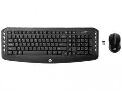 HP Wireless Keyboard + Mouse(Garfield)