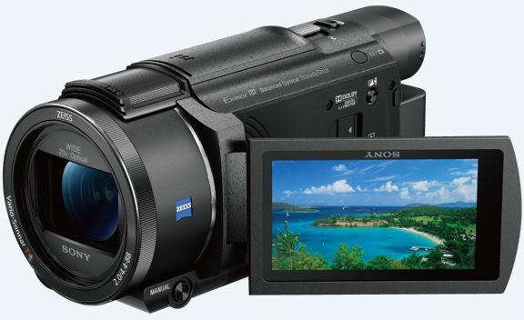 Sony FDR-AX53 4K černá